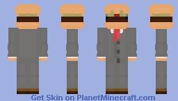 Beef Boss Minecraft Skin