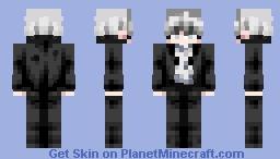 Loose Tuxedo • Tux Minecraft Skin