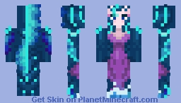 Deep Sea Nami Minecraft Skin