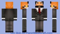 Agent FOX!!! Minecraft Skin