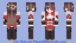 beidou genshin impact Minecraft Skin