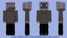 TV Man Minecraft Skin