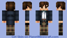2nd Doctor- Patrick Troughton (Doctor Who 50th Anniversary Skin Series) Minecraft