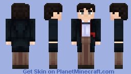 The Second Doctor Minecraft Skin