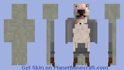 Walter The Dog Minecraft Skin