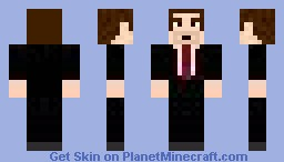 The Boss, Version Two Minecraft Skin