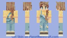 Farmer Girl Minecraft Skin