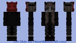 Dark girl ♚ Minecraft Skin