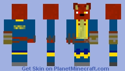 Cody Redwool J EX (2018 EDITION) Minecraft Skin