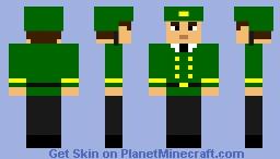 Soldier Ceremonial Uniform Minecraft Skin