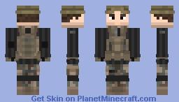 S.A.S rural c.p.t Minecraft Skin
