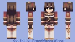 amber Minecraft Skin