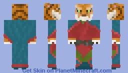 Kabhran Crágar, Master Buttonsmith Minecraft Skin