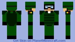 Combat Soldier Minecraft Skin