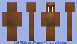Walrus Minecraft Skin