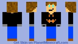 Halloween ClickerHands Minecraft Skin