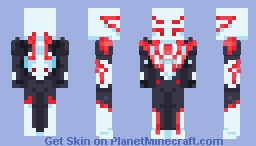 Spiderman 2099 Minecraft Skin