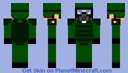 Combat Soldier Masked Minecraft Skin