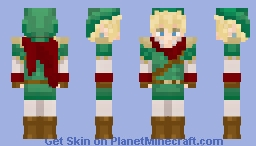 Hylia's Chosen Hero Minecraft Skin