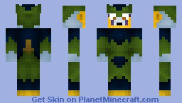 33. Cell PerfectForm ( Dragonball Z ) Minecraft Skin