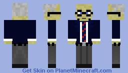 Milton Friedman Minecraft Skin
