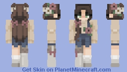 still got the spring vibe in the cold Minecraft Skin