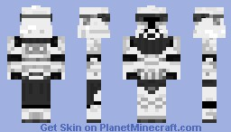 Commander clone trooper  REGULAR Minecraft Skin