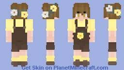 Cottage Core Boy Minecraft Skin