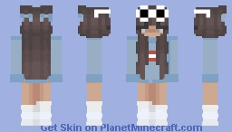GeorgeNotFound Girl ver. Minecraft Skin