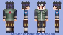 shisui uchiha Minecraft Skin
