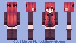reds ^-^ Minecraft Skin