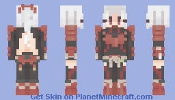 Odogaron Armour - MHW Minecraft Skin