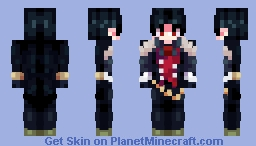 ▌│█║▌║ LUCIFER - OBEY ME! ║▌║█│▌ - SPACE Minecraft Skin