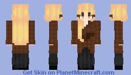 bway's best girl - anastasia romanova - anastasia: the musical Minecraft Skin