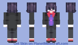 Kokichi ig Minecraft Skin