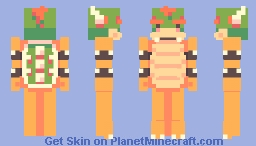 bowser Minecraft Skin