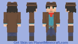 i got the mob heads in the back Minecraft Skin