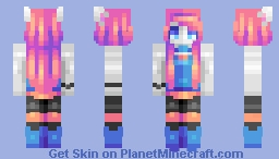 ♡ 𝓿𝒶𝓁𝓀𝓎𝓇𝒾𝑒𝓃 ♡ soulless machine | adopted oc Minecraft Skin