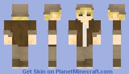 Explorer / Archeologist Minecraft Skin