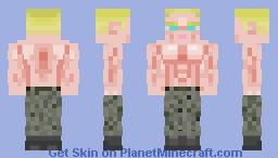 Shirtless Spetsnaz Minecraft Skin