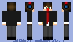 Me P-C (Tuxedo) Minecraft Skin