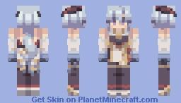 ganyu Minecraft Skin