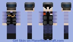 Barney Calhoun (HD) Minecraft Skin