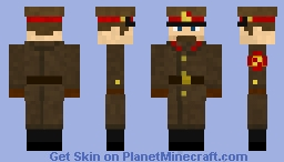 Soviet Soldier w/ winter coat
