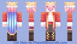 Techno Never Dies Minecraft Skin
