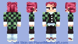 Tanjiro Kamado Minecraft Skin