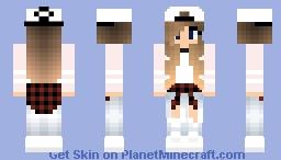 beautiful girl Minecraft Skin