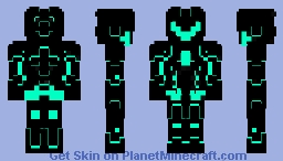 Space robot Minecraft Skin