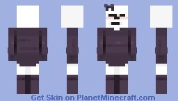 *blushes* Minecraft Skin