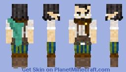 Elf librarian Minecraft Skin